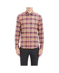 Brooklyn Tailors - Multicolor Plaid Flannel Shirt for Men - Lyst