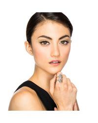 Lulu Frost - Metallic Crystaline Ring - Lyst