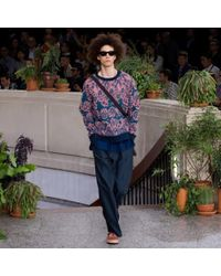 Paul Smith - Pink Botanical Art Garden Jacquard Sweatshirt for Men - Lyst