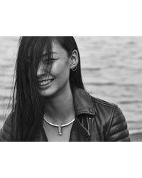 Jenny Bird | Metallic Slant Ear Cuff - High Polish | Lyst