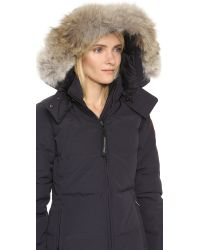 Canada Goose - Blue Chelsea Parka - Lyst