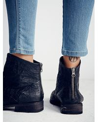 Free People - Black Granada Ankle Boot - Lyst