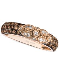 Le Vian | Pink Chocolate Deco Estate Diamond (3/4 Ct. T.w.) Ring In 14k Gold | Lyst