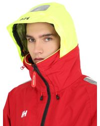 Helly Hansen | Red Crew Coastal Jacket for Men | Lyst