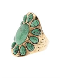 Aurelie Bidermann - Green Natural Stone Ring - Lyst