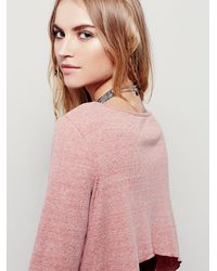 Free People | Pink Cool Cat Dress | Lyst