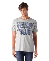 DIESEL | Gray T-joe-aa for Men | Lyst