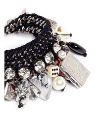 Venessa Arizaga | Black 'pandora's Box' Bracelet | Lyst