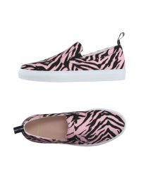 Boutique Moschino - Pink Low-tops & Trainers - Lyst