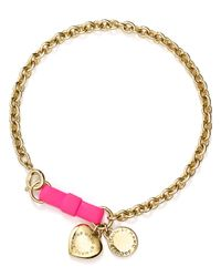 Marc By Marc Jacobs - Green Arrow Charm Bracelet - Lyst