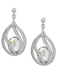 Swarovski | Metallic Megan Pierced Earrings | Lyst