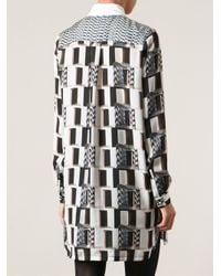 KENZO - Multicolor Shirt Dress - Lyst