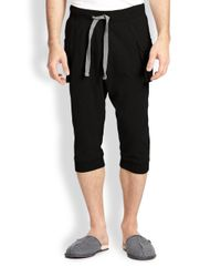 2xist | Black Cargo Pocket Capri Pants for Men | Lyst