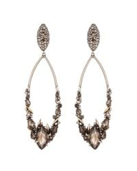Alexis Bittar - Metallic Smoky Marquis Cluster Link Clip Earring - Lyst