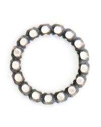 Maria Black - Metallic Big Roll On Oxidized Sterling Silver Ring - Lyst