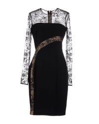 Elie Saab - Black Knee-length Dress - Lyst