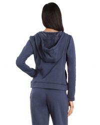 Ugg | Blue Fleece Lined Hoodie | Lyst