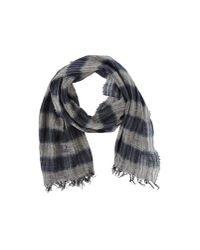 C P Company - Blue Oblong Scarf for Men - Lyst