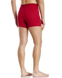 2xist - Red 2(X)Ist 3-Pack 100% Cotton Boxer Briefs for Men - Lyst