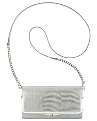 Nine West | White Glitter Mob Wallet On A Chain | Lyst