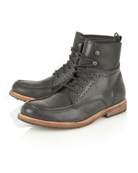 Frank Wright | Black Gee Ii Mens Lace Up Boots for Men | Lyst