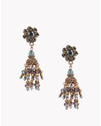 DSquared² - Blue Gipsy Earrings - Lyst