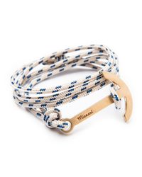 Miansai | Natural Modern Anchor Rope Bracelet | Lyst