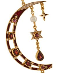 Percossi Papi - Metallic Diego Gold-Plated Multi-Stone Earrings - Lyst