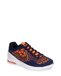 Nike | Blue 'Zoom Cage 2' Tennis Shoe for Men | Lyst