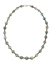 Belpearl | Tahitian Black Pearl & Spinel Necklace | Lyst
