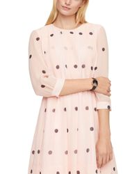 kate spade new york | Pink Champagne At Midnight Metro Watch | Lyst