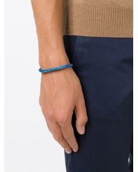 Tateossian Blue 'soho' Bracelet for men