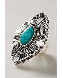 Samantha Wills - Metallic Turquoise Shield Ring - Lyst