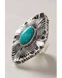 Samantha Wills | Metallic Turquoise Shield Ring | Lyst