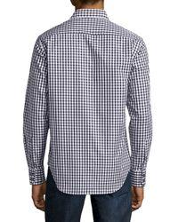 Robert Graham - Black Long-sleeve Check Sport Shirt for Men - Lyst