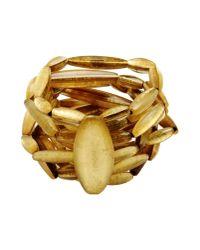 Monies - Metallic Bracelet - Lyst