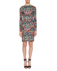 Nicole Miller - Multicolor Luxuriant Jersey Dress - Lyst