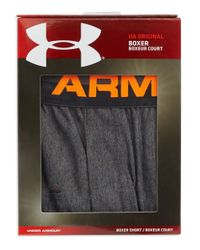 Under Armour | Gray Moisture Wicking Boxers for Men | Lyst