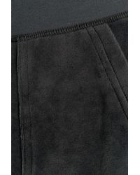 Juicy Couture - Black Bling Velour Track Pants - Blue - Lyst