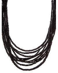 Weekend by Maxmara - Black Adagio Necklace - Lyst