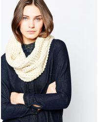 French Connection | Natural Chunky Snood | Lyst