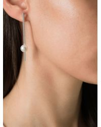 Bukkehave | Metallic 'pearly King' Earrings | Lyst
