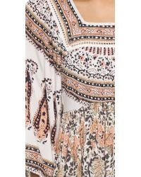 Free People | Multicolor Snap Out Of It Midsummers Dream Dress - Ivory Combo | Lyst
