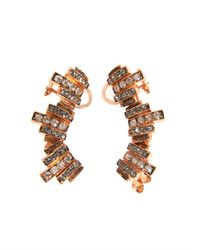 Ca&Lou - Metallic Lou Lou Lobo Earrings - Lyst