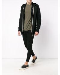 Rick Owens - Black Cashmere Hooded Sweatshirt for Men - Lyst