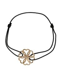 Poiray - Pink Heart & Flower Bracelet - Lyst