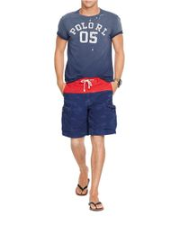 Polo Ralph Lauren | Blue Relaxed-Fit Nautical Cargo Shorts for Men | Lyst