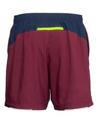 H&M - Yellow Running Shorts for Men - Lyst