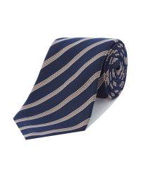 Paul Smith - Blue Stripe Tie for Men - Lyst