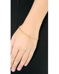 Shashi - Metallic Celeste Wrap Bracelet - Lyst